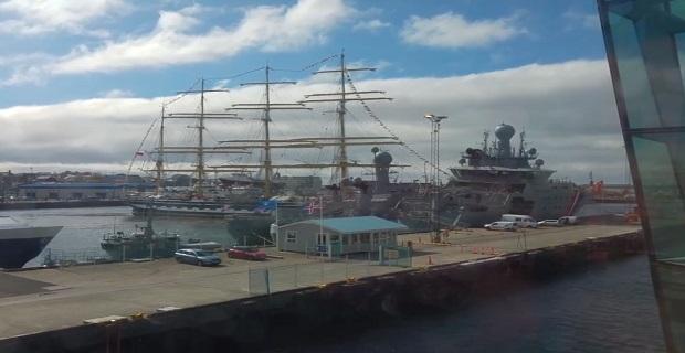 Ρώσικο ιστιοφόρο εμβολίζει ισλανδικά λιμενικά σκάφη [video] - e-Nautilia.gr   Το Ελληνικό Portal για την Ναυτιλία. Τελευταία νέα, άρθρα, Οπτικοακουστικό Υλικό