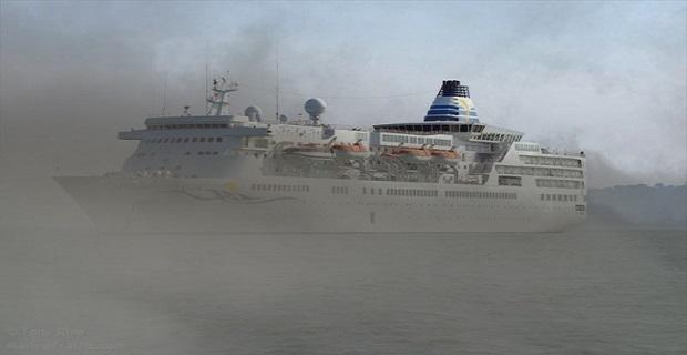 Κρουαζιερόπλοιο εμβόλισε σκάφος του Λιμεναρχείου Χίου ανοιχτά του Καρφά - e-Nautilia.gr | Το Ελληνικό Portal για την Ναυτιλία. Τελευταία νέα, άρθρα, Οπτικοακουστικό Υλικό