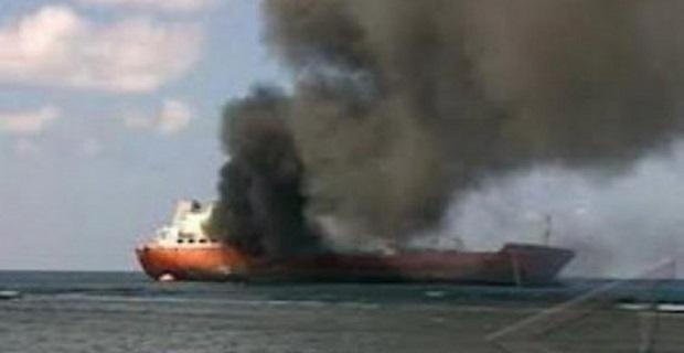 Πυρκαγιά στο Φ/Γ-Ο/Γ «Ευγενία Π» στην Ελευσίνα - e-Nautilia.gr | Το Ελληνικό Portal για την Ναυτιλία. Τελευταία νέα, άρθρα, Οπτικοακουστικό Υλικό