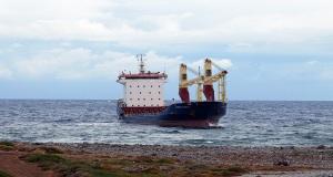 Προσάραξη φορτηγού πλοίου ανατολικά των Κυθήρων