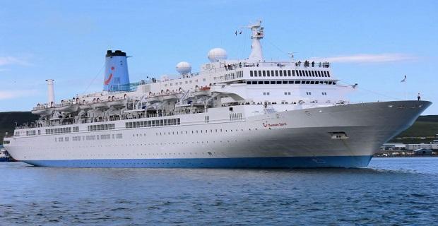 Το κρουαζιερόπλοιο «Thomson Spirit» με 1.280 επιβάτες στη Θεσσαλονίκη - e-Nautilia.gr   Το Ελληνικό Portal για την Ναυτιλία. Τελευταία νέα, άρθρα, Οπτικοακουστικό Υλικό