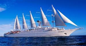 Το ιστιοφόρο κρουαζιερόπλοιο Club Med 2 στον Πειραιά[video]