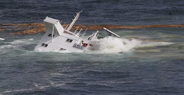 Φορτηγό πλοίο βυθίστηκε μετά από σύγκρουση με ύφαλο - e-Nautilia.gr | Το Ελληνικό Portal για την Ναυτιλία. Τελευταία νέα, άρθρα, Οπτικοακουστικό Υλικό