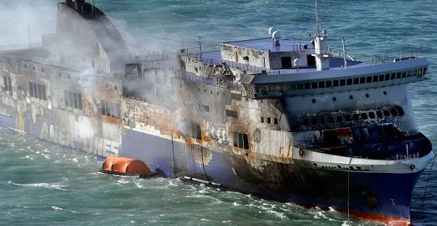 «Πλιάτσικο» στα… καμένα του Norman Atlantic - e-Nautilia.gr | Το Ελληνικό Portal για την Ναυτιλία. Τελευταία νέα, άρθρα, Οπτικοακουστικό Υλικό