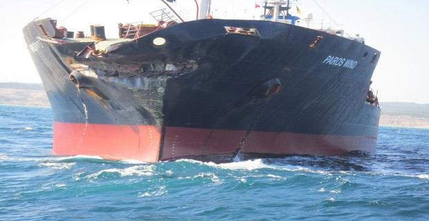 Κι άλλη σύγκρουση πλοίων στον Βόσπορο [pics] - e-Nautilia.gr | Το Ελληνικό Portal για την Ναυτιλία. Τελευταία νέα, άρθρα, Οπτικοακουστικό Υλικό