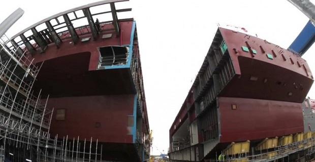 Εντυπωσιάζει ο ρυθμός κατασκευής του αεροπλανοφόρου HMS Prince of Wales - e-Nautilia.gr | Το Ελληνικό Portal για την Ναυτιλία. Τελευταία νέα, άρθρα, Οπτικοακουστικό Υλικό