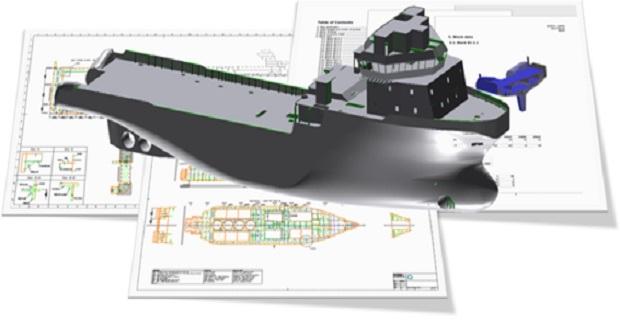 Νέος 3D σχεδιασμός εξοικονομεί χρόνο διεκπεραίωσης της στατικής μελέτης - e-Nautilia.gr | Το Ελληνικό Portal για την Ναυτιλία. Τελευταία νέα, άρθρα, Οπτικοακουστικό Υλικό