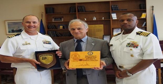 Στελέχη του αμερικανικού πολεμικού ναυτικού στις εγκαταστάσεις του ΟΛΠ - e-Nautilia.gr   Το Ελληνικό Portal για την Ναυτιλία. Τελευταία νέα, άρθρα, Οπτικοακουστικό Υλικό