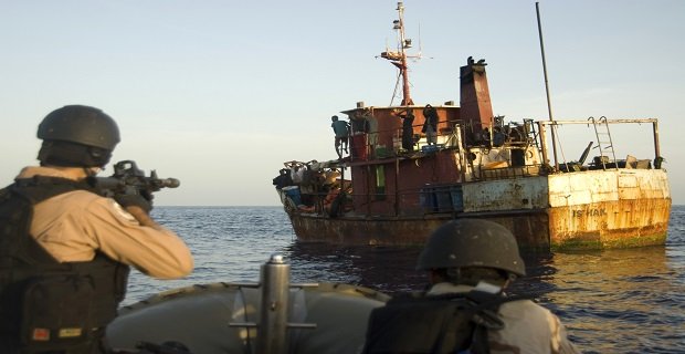 Combined Task Force 151 makes first suspected pirate capture