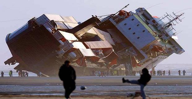 "MS ""Riverdance"": Το Ro-Ro Ferry που κτυπήθηκε από ένα κύμα, προσάραξε και λίγο μετά έγινε παλιοσίδερα - e-Nautilia.gr   Το Ελληνικό Portal για την Ναυτιλία. Τελευταία νέα, άρθρα, Οπτικοακουστικό Υλικό"