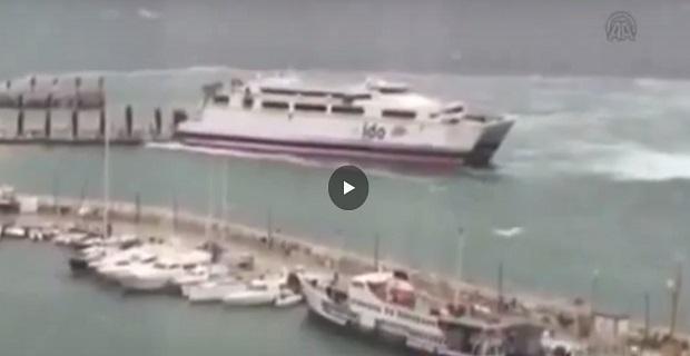 Επιβατηγό πλοίο με  786 επιβάτες προσέκρουσε σε προβλήτα στη Τουρκία [video] - e-Nautilia.gr | Το Ελληνικό Portal για την Ναυτιλία. Τελευταία νέα, άρθρα, Οπτικοακουστικό Υλικό