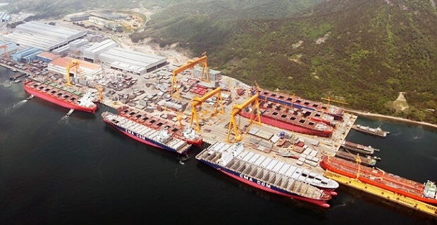 Το ναυπηγείο της Sungdong