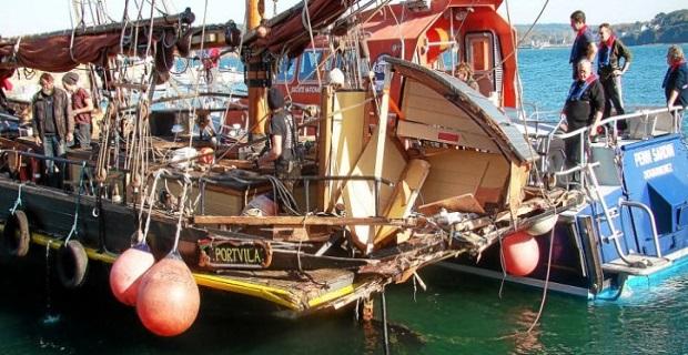 Το παλαιότερο ιστιοπλοϊκό στον κόσμο χτυπήθηκε από ψαράδικο! [pics] - e-Nautilia.gr | Το Ελληνικό Portal για την Ναυτιλία. Τελευταία νέα, άρθρα, Οπτικοακουστικό Υλικό