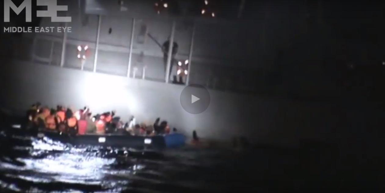 Προβοκατόρικο βίντεο με το οποίο η Τουρκία προσπαθεί να μας πείσει ότι οι Ελληνικές αρχές βουλιάζουν φουσκωτό με πρόσφυγες! - e-Nautilia.gr | Το Ελληνικό Portal για την Ναυτιλία. Τελευταία νέα, άρθρα, Οπτικοακουστικό Υλικό