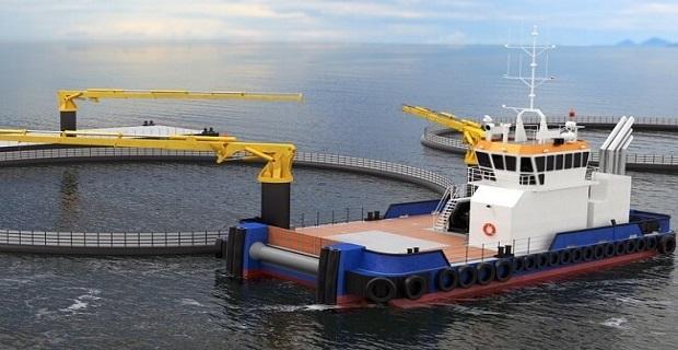 Επαναστατικός συνδυασμός σκαφών της Damen για ιχθυοκαλλιέργειες - e-Nautilia.gr | Το Ελληνικό Portal για την Ναυτιλία. Τελευταία νέα, άρθρα, Οπτικοακουστικό Υλικό