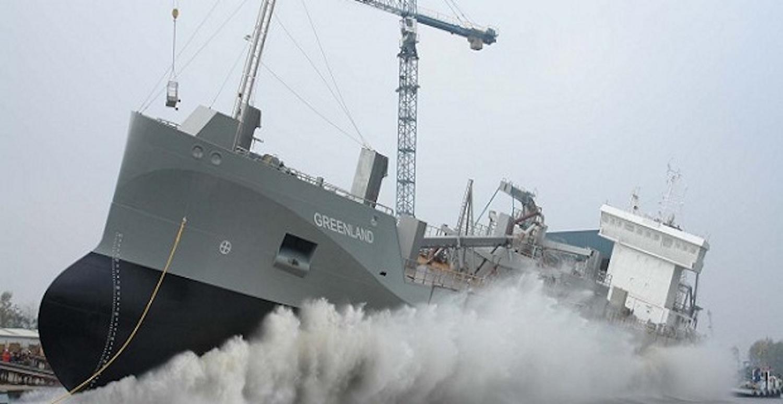 Η καθέλκυση του πρώτου κινούμενου με LNG πλοίου μεταφοράς ξηρού φορτίου (video) - e-Nautilia.gr | Το Ελληνικό Portal για την Ναυτιλία. Τελευταία νέα, άρθρα, Οπτικοακουστικό Υλικό