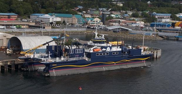 M/V Susitna - Catamaran Ice Breaking Ferry for Alaska