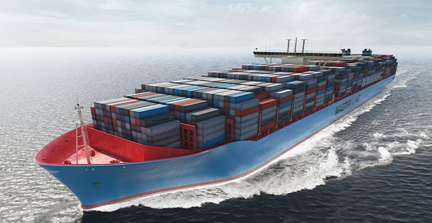 Triple E container ship