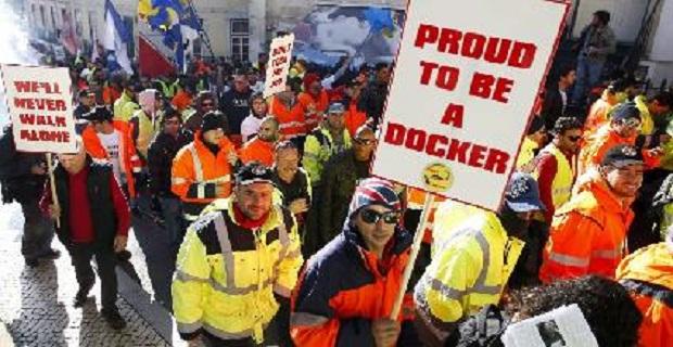 10ήμερη απεργία λιμενεργατών στην Πορτογαλία - e-Nautilia.gr   Το Ελληνικό Portal για την Ναυτιλία. Τελευταία νέα, άρθρα, Οπτικοακουστικό Υλικό