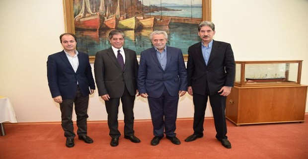 Συνάντηση Θ. Δρίτσα με τον πρέσβη της Παλαιστίνης - e-Nautilia.gr | Το Ελληνικό Portal για την Ναυτιλία. Τελευταία νέα, άρθρα, Οπτικοακουστικό Υλικό