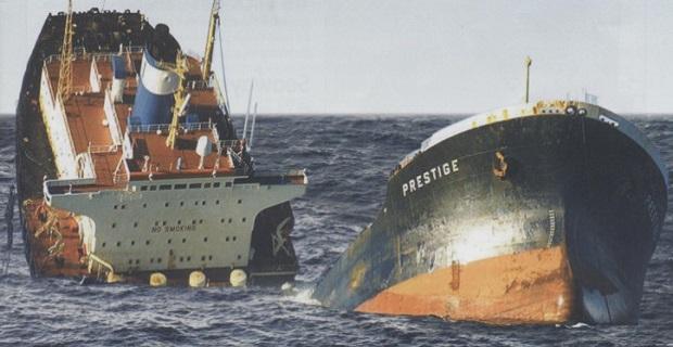 Η βύθιση του τάνκερ Prestige (videos) - e-Nautilia.gr | Το Ελληνικό Portal για την Ναυτιλία. Τελευταία νέα, άρθρα, Οπτικοακουστικό Υλικό