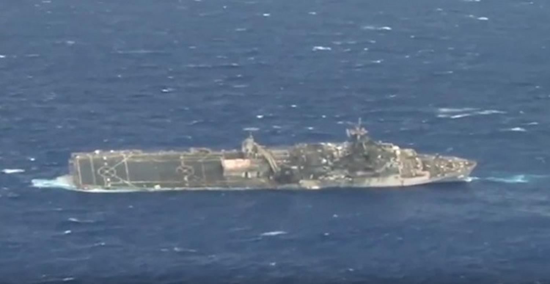 Η βύθιση του USS Ogden από πυραύλους στην άσκηση RIMPAC 2014 (video) - e-Nautilia.gr | Το Ελληνικό Portal για την Ναυτιλία. Τελευταία νέα, άρθρα, Οπτικοακουστικό Υλικό