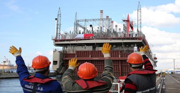 Karadeniz Holding'in yeni enerji gemilerini uğurlama töreni