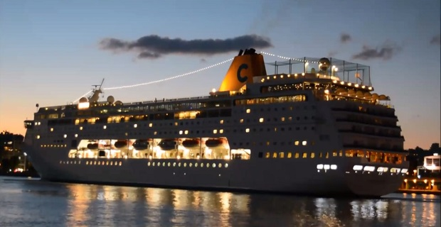 Costa neoRiviera: Ένα πλοίο που κάποτε άνηκε σε Έλληνες ήρθε στον Πειραιά (Video) - e-Nautilia.gr   Το Ελληνικό Portal για την Ναυτιλία. Τελευταία νέα, άρθρα, Οπτικοακουστικό Υλικό