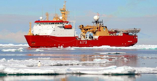 To Worldís End ñ Royal Navy completes historic patrol