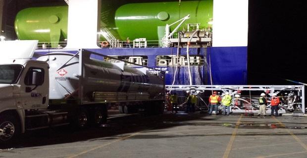 TOTE Maritime: Επιβλέποντας την μεταφορά καυσίμου στο MV Isla Bella (Photos) - e-Nautilia.gr | Το Ελληνικό Portal για την Ναυτιλία. Τελευταία νέα, άρθρα, Οπτικοακουστικό Υλικό