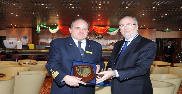 Tο πρώτο κρουαζιερόπλοιο για το 2016 υποδέχτηκε o ΟΛΠ - e-Nautilia.gr | Το Ελληνικό Portal για την Ναυτιλία. Τελευταία νέα, άρθρα, Οπτικοακουστικό Υλικό