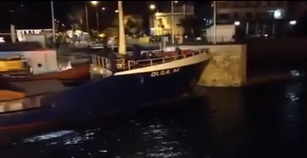 Φορτηγό πλοίο προσέκρουσε στη γέφυρα Πορθμού Ευρίπου[βίντεο] - e-Nautilia.gr | Το Ελληνικό Portal για την Ναυτιλία. Τελευταία νέα, άρθρα, Οπτικοακουστικό Υλικό