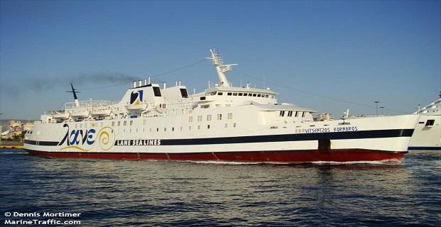 Προσέκρουσε στο λιμάνι Κισσάμου το «Βιτσέντζος Κορνάρος» - e-Nautilia.gr | Το Ελληνικό Portal για την Ναυτιλία. Τελευταία νέα, άρθρα, Οπτικοακουστικό Υλικό