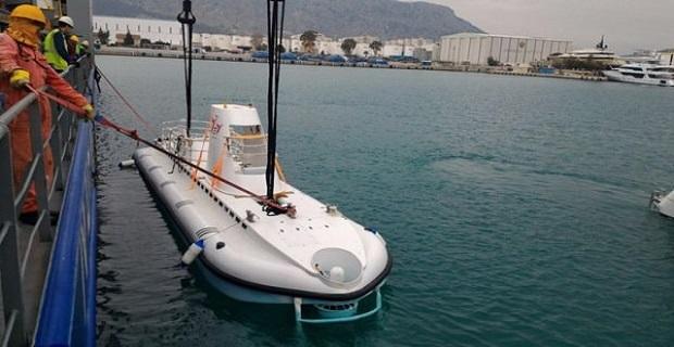 Το πρώτο τούρκικο υποβρύχιο για τουρίστες - e-Nautilia.gr | Το Ελληνικό Portal για την Ναυτιλία. Τελευταία νέα, άρθρα, Οπτικοακουστικό Υλικό