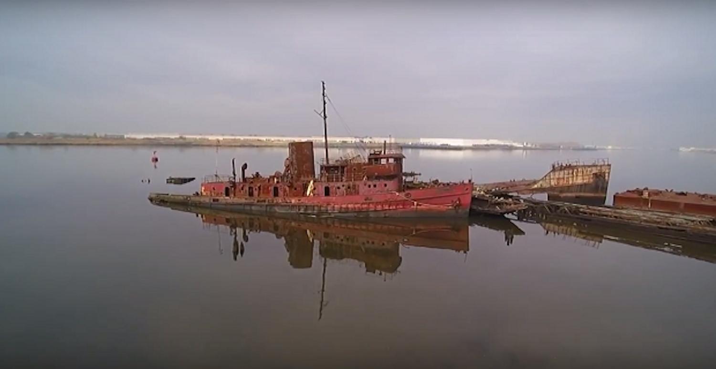 Συγκλονιστικό βίντεο από drone που μας δείχνει ένα ''νεκροταφείο'' πλοίων! - e-Nautilia.gr | Το Ελληνικό Portal για την Ναυτιλία. Τελευταία νέα, άρθρα, Οπτικοακουστικό Υλικό