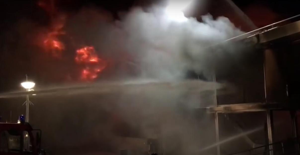 ΒΙΝΤΕΟ: Μεγάλης κλίμακας πυρκαγιά σε επιβατηγό πλοίο στην Ολλανδία - e-Nautilia.gr | Το Ελληνικό Portal για την Ναυτιλία. Τελευταία νέα, άρθρα, Οπτικοακουστικό Υλικό