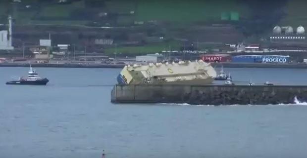 Η άφιξη στο Μπιλμπάο του ρυμουλκούμενου πλοίου Modern Express (βίντεο) - e-Nautilia.gr   Το Ελληνικό Portal για την Ναυτιλία. Τελευταία νέα, άρθρα, Οπτικοακουστικό Υλικό