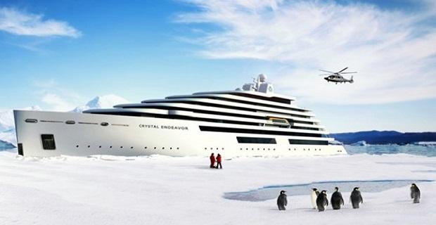 Η Crystal Cruises ετοιμάζει το μεγαλύτερο μεγα-γιοτ για πολικές περιοχές - e-Nautilia.gr | Το Ελληνικό Portal για την Ναυτιλία. Τελευταία νέα, άρθρα, Οπτικοακουστικό Υλικό
