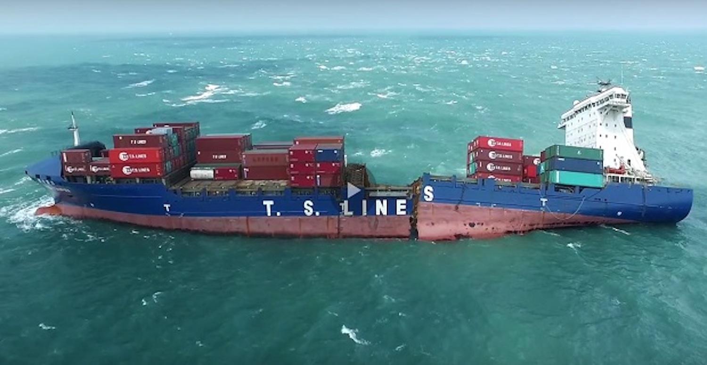 Προσάραξη του TS Taipei: Η περιβαλλοντολογική καταστροφή μέσα από τον φακό ενός drone (Video) - e-Nautilia.gr | Το Ελληνικό Portal για την Ναυτιλία. Τελευταία νέα, άρθρα, Οπτικοακουστικό Υλικό