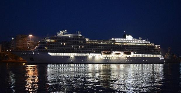 Viking Sea: Παρθενική άφιξη στο λιμάνι του Πειραιά [βίντεο] - e-Nautilia.gr | Το Ελληνικό Portal για την Ναυτιλία. Τελευταία νέα, άρθρα, Οπτικοακουστικό Υλικό