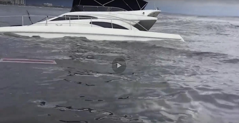 Βίντεο με την βύθιση πολυτελούς γιότ - e-Nautilia.gr   Το Ελληνικό Portal για την Ναυτιλία. Τελευταία νέα, άρθρα, Οπτικοακουστικό Υλικό