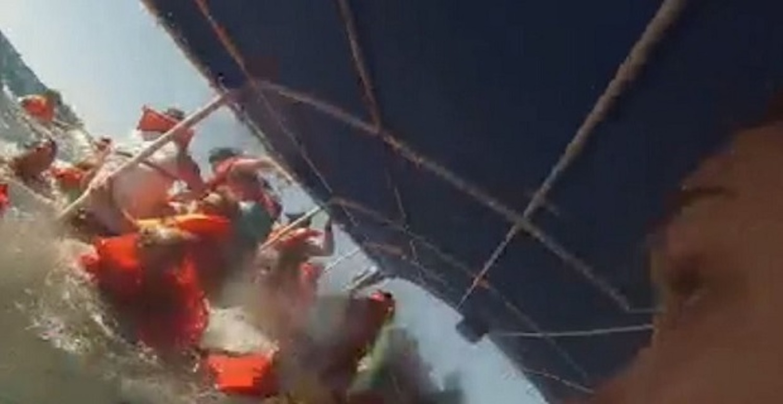 Η τρομακτική στιγμή της βύθισης ενός καταμαράν στην Κόστα Ρίκα (Video) - e-Nautilia.gr | Το Ελληνικό Portal για την Ναυτιλία. Τελευταία νέα, άρθρα, Οπτικοακουστικό Υλικό