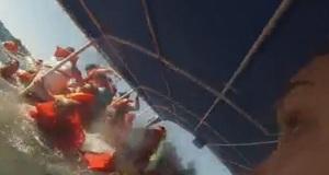 Η τρομακτική στιγμή της βύθισης ενός καταμαράν στην Κόστα Ρίκα [βίντεο]