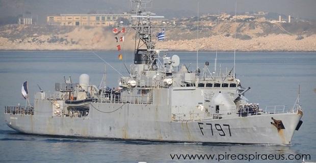 Στο λιμάνι του Πειραιά το COMMANDANT BOUAN F797 [βίντεο] - e-Nautilia.gr | Το Ελληνικό Portal για την Ναυτιλία. Τελευταία νέα, άρθρα, Οπτικοακουστικό Υλικό