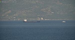 Εγκαταλείφθηκε το φορτηγό πλοίο που προσάραξε στη Μυτιλήνη