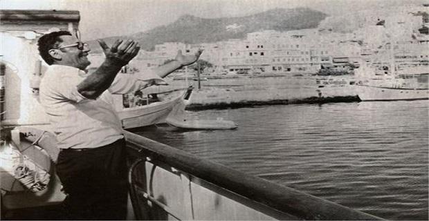 Δεκαετία 50 στο λιμάνι της Νάξου