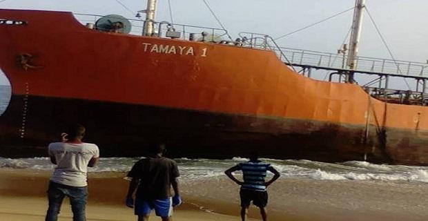 Πλοίο-φάντασμα ξεβράστηκε στις ακτές της Λιβερίας - e-Nautilia.gr | Το Ελληνικό Portal για την Ναυτιλία. Τελευταία νέα, άρθρα, Οπτικοακουστικό Υλικό