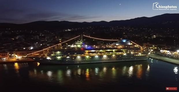 Πρώτη άφιξη κρουαζιερόπλοιου στη Χίο για τη φετινή τουριστική σεζόν [βίντεο] - e-Nautilia.gr | Το Ελληνικό Portal για την Ναυτιλία. Τελευταία νέα, άρθρα, Οπτικοακουστικό Υλικό