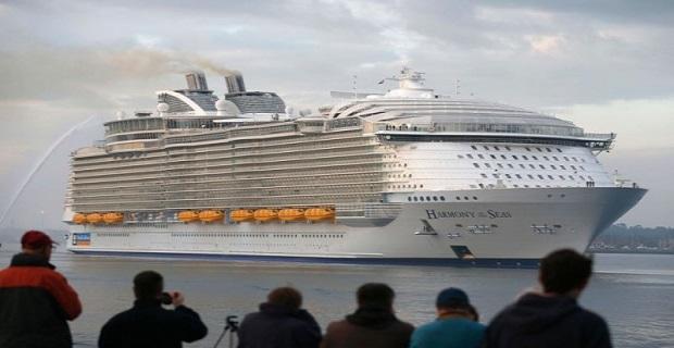 Το παρθενικό ταξίδι του Harmony of the Seas μέσω ενός drone (video) - e-Nautilia.gr | Το Ελληνικό Portal για την Ναυτιλία. Τελευταία νέα, άρθρα, Οπτικοακουστικό Υλικό