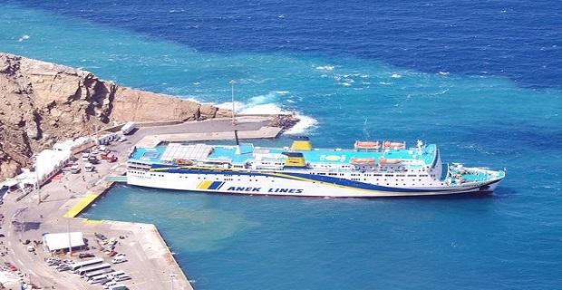 Επικίνδυνο το λιμάνι του Αθηνιού στη Σαντορίνη - e-Nautilia.gr | Το Ελληνικό Portal για την Ναυτιλία. Τελευταία νέα, άρθρα, Οπτικοακουστικό Υλικό